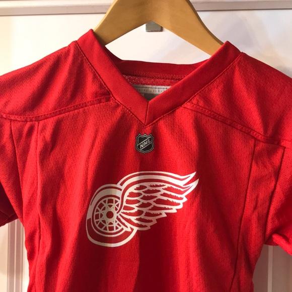 timeless design b049b 295cf Reebok Shirts & Tops   Detroit Red Wings Toddlers Jersey ...